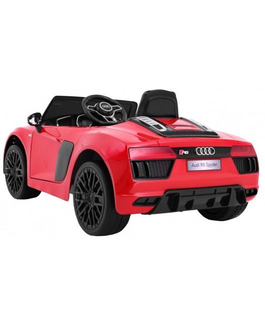Elektrické autíčko AUDI R8 Spyder RS EVA kolesá  2.4 G lakované červené